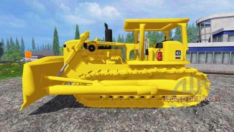 Caterpillar D9G pour Farming Simulator 2015