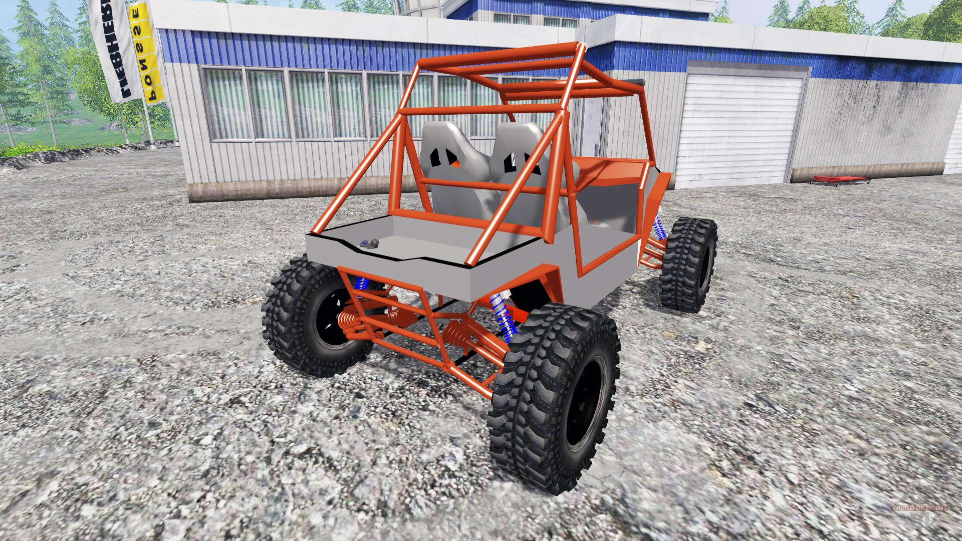 polaris rzr  wheels  pour farming simulator 2015