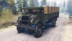 Chevrolet C60L 4x4 1942 pour Spin Tires