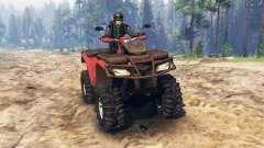 Polaris Sportsman 4x4 v3.0 für Spin Tires