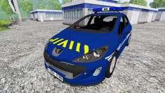 Peugeot 308 Gendarmerie