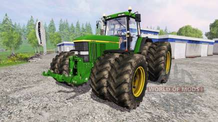 John Deere 7810 v2.1 pour Farming Simulator 2015