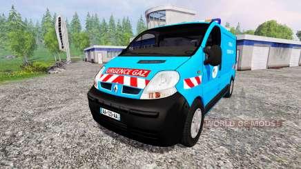 Renault Trafic [urgence gaz] v2.0 pour Farming Simulator 2015
