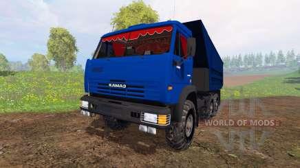 KamAZ-65115 v4.0 für Farming Simulator 2015