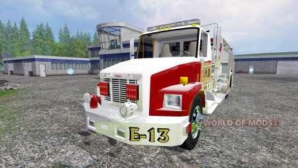 Freightliner FL60 [feuerwehr] pour Farming Simulator 2015