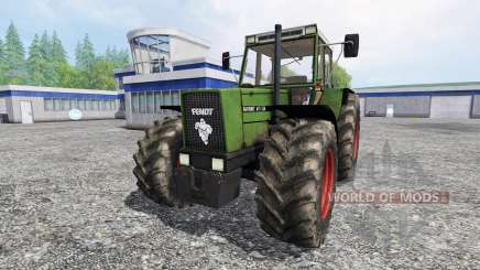 Fendt 611 LSA Turbomatic [forestry edition] für Farming Simulator 2015