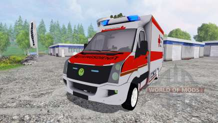 Volkswagen Crafter BRK pour Farming Simulator 2015