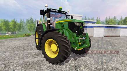 John Deere 6210R v2.1 pour Farming Simulator 2015