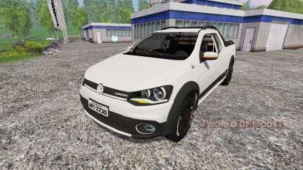 Volkswagen Saveiro G6 pour Farming Simulator 2015