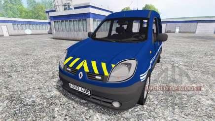 Renault Kangoo Gendarmerie für Farming Simulator 2015