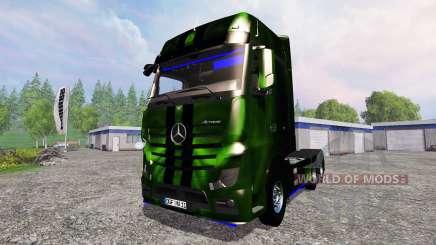 Mercedes-Benz Actros MP4 NOS Hardcore für Farming Simulator 2015
