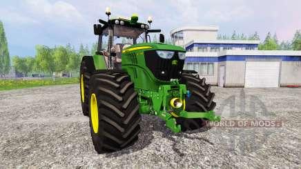 John Deere 6170M v1.0 pour Farming Simulator 2015