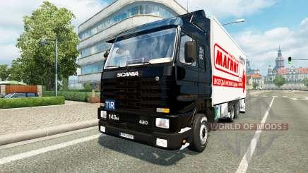 Scania 143M BDF für Euro Truck Simulator 2