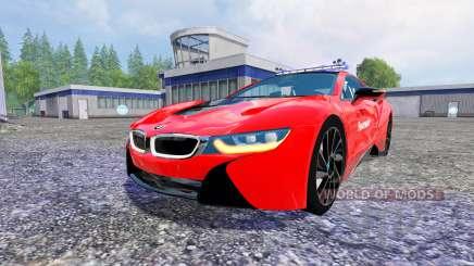 BMW i8 eDrive Feuerwehr für Farming Simulator 2015