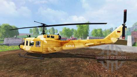 Bell UH-1D [sprayer] für Farming Simulator 2015