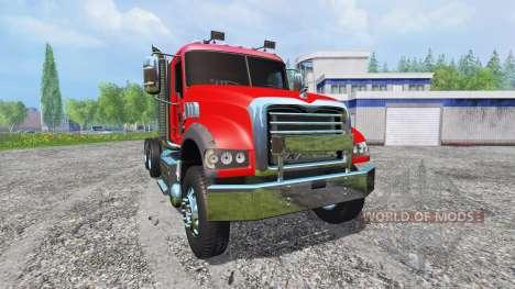 Mack Granite v2.0 pour Farming Simulator 2015