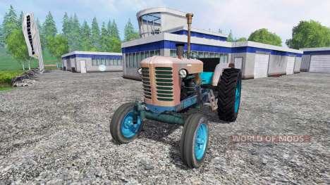 MTZ-52 pour Farming Simulator 2015