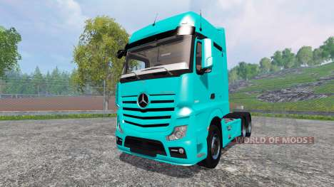 Mercedes-Benz Actros 2014 pour Farming Simulator 2015