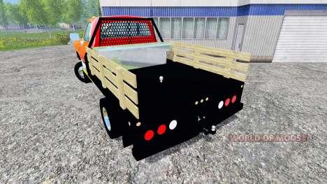 Dodge D-250 Flatbed für Farming Simulator 2015