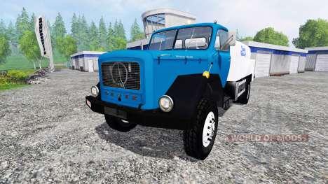 Magirus-Deutz 200D26A 1964 [milk truck] pour Farming Simulator 2015
