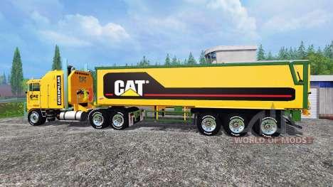 Kenworth K100 CAT pour Farming Simulator 2015
