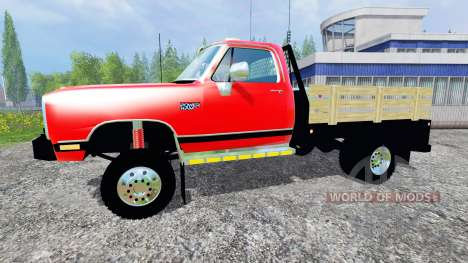 Dodge D-250 Flatbed pour Farming Simulator 2015
