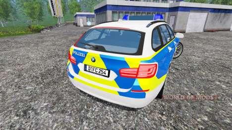 BMW 520d Dusseldorf Police für Farming Simulator 2015