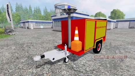 Remorque Secours Routier pour Farming Simulator 2015