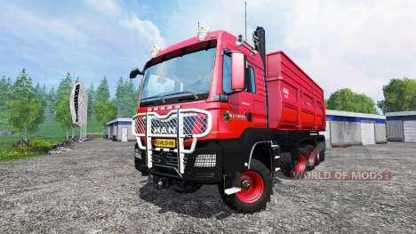 MAN TGS 10x8 v1.3 pour Farming Simulator 2015