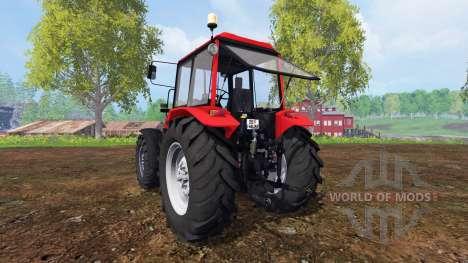 La biélorussie 1221.4 v4.0 pour Farming Simulator 2015