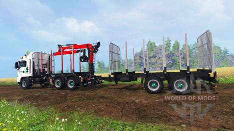MAN TGS 41.480 [forest] für Farming Simulator 2015