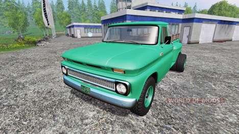 Chevrolet C10 1966 4x4 für Farming Simulator 2015