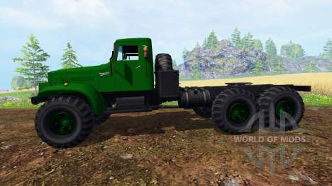 KrAZ-255 B1 v1.2.1 für Farming Simulator 2015