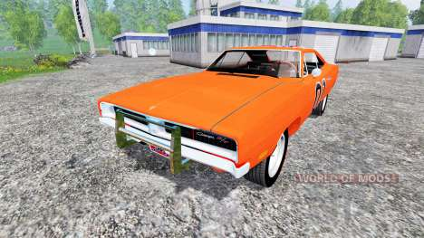 Dodge Charger General Lee für Farming Simulator 2015