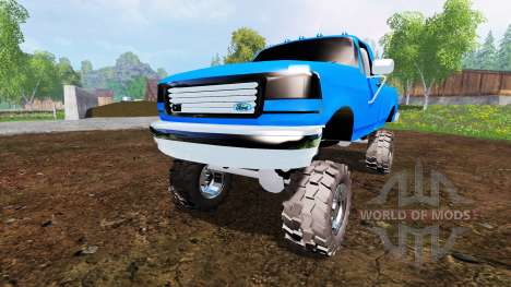 Ford F-150 v2.0 pour Farming Simulator 2015