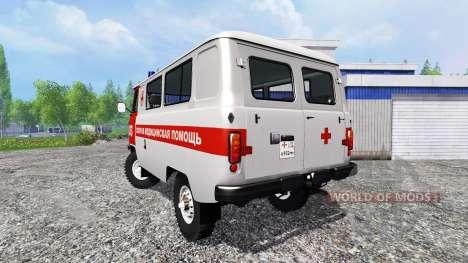 UAZ-2206 [Ambulanz] v2.0 für Farming Simulator 2015