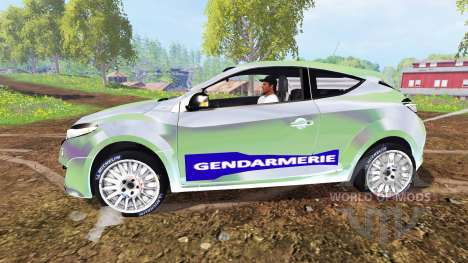 Renault Megane RS Gendarmerie pour Farming Simulator 2015