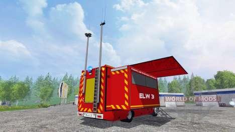 Renault Lander ELW 3 für Farming Simulator 2015