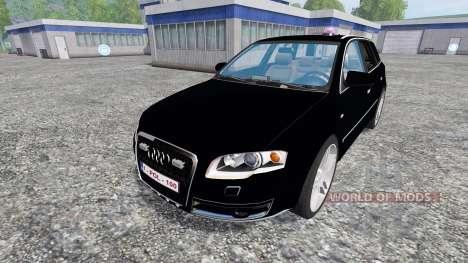 Audi A4 Police für Farming Simulator 2015