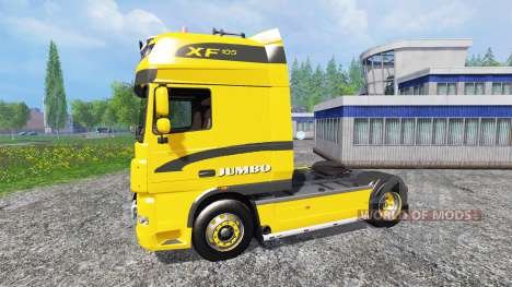 DAF XF Jumbo für Farming Simulator 2015