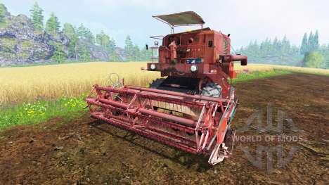 Bizon Z050 für Farming Simulator 2015