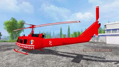 Bell UH-1D [sapeurs pompiers] pour Farming Simulator 2015