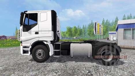 Iveco Stralis V8 LowCab pour Farming Simulator 2015