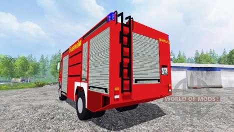 Mercedes-Benz Actros 4141 [feuerwehr] pour Farming Simulator 2015