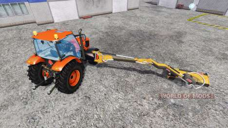Kubota M135GX [mount mower] für Farming Simulator 2015