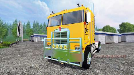 Kenworth K100 CAT für Farming Simulator 2015