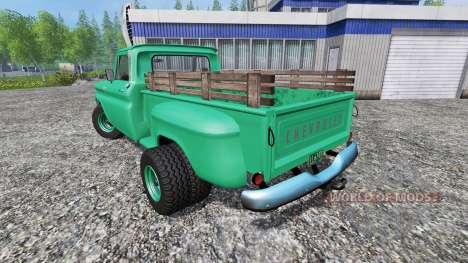 Chevrolet C10 1966 4x4 pour Farming Simulator 2015