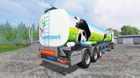 DAF XF Campina für Farming Simulator 2015