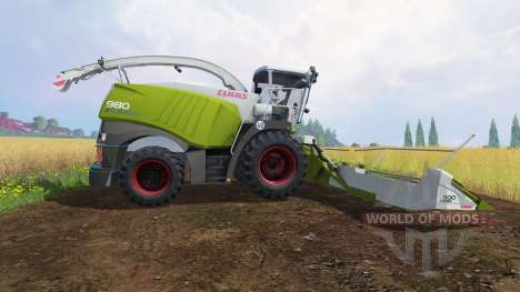 CLAAS Jaguar 980 [dynamic power] für Farming Simulator 2015