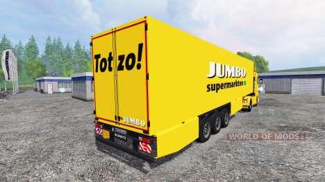 Scania 143M Jumbo für Farming Simulator 2015